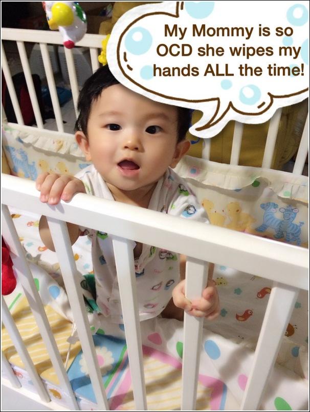 attention seeking baby