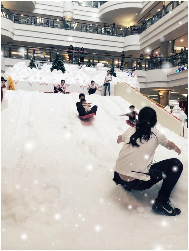 ronald mcdonald FUN snowglide