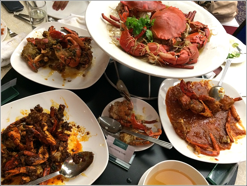 Chatz Parkroyal Seafood Buffet Dinner 10 crab flavours