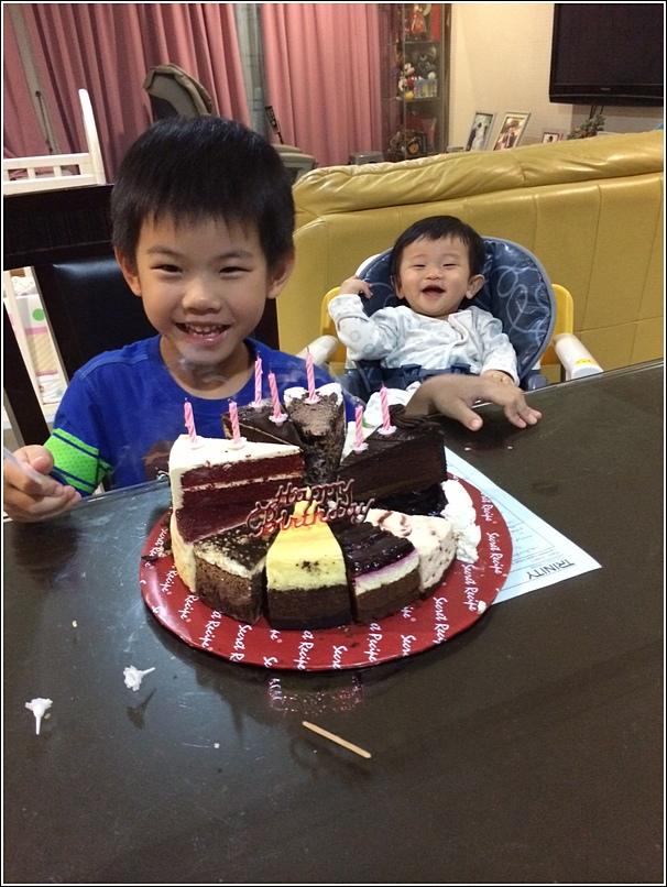 Ethan's birthday secret recipe cake
