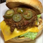 Frontera Chili Cheese Burger
