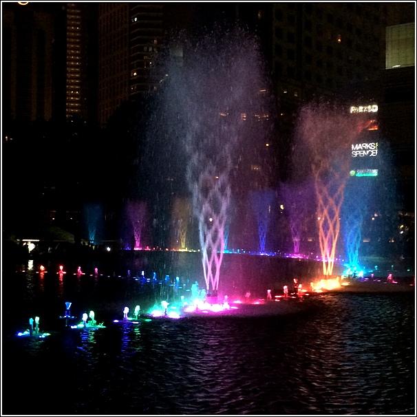 KLCC Park Light Show