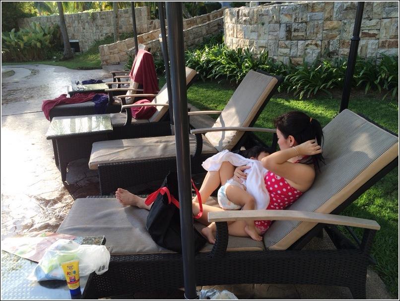 Thistle Port Dickson Swimming Pool Breastfeeding