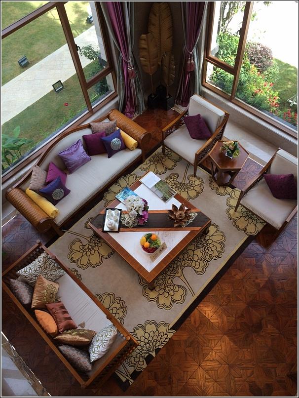 Diamond City Semenyih Mansion living room aerial view