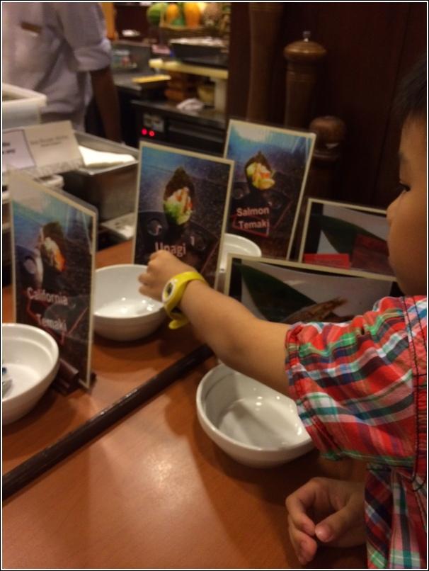 Japanese buffet at Kofuku Japanese Restaurant at Seri Pacific Hotel how to order 3