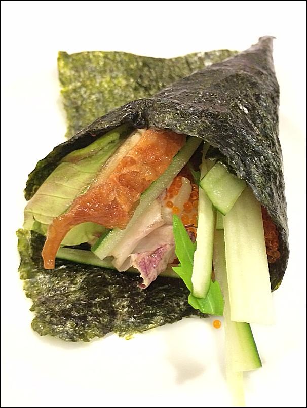Japanese buffet at Kofuku Japanese Restaurant at Seri Pacific Hotel unagi roll