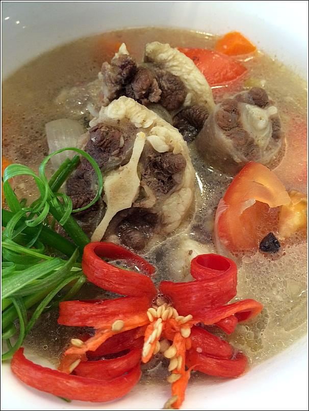 Silka Cheras Merdeka day hi tea sup ekor