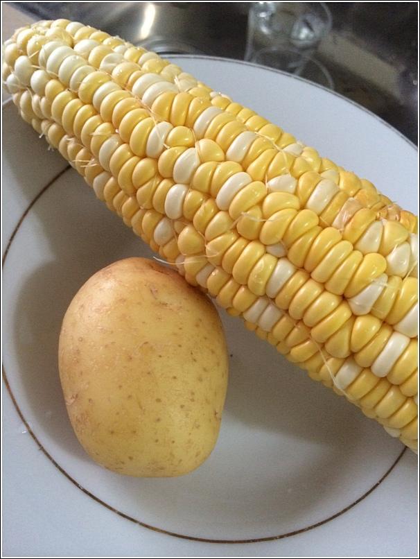 Yellow porridge corn