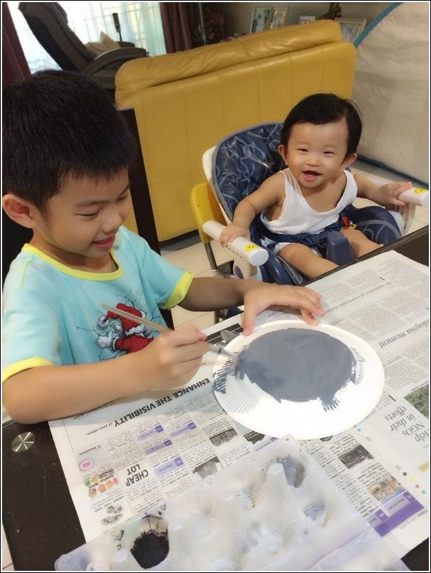 paper plate shark craft for kids