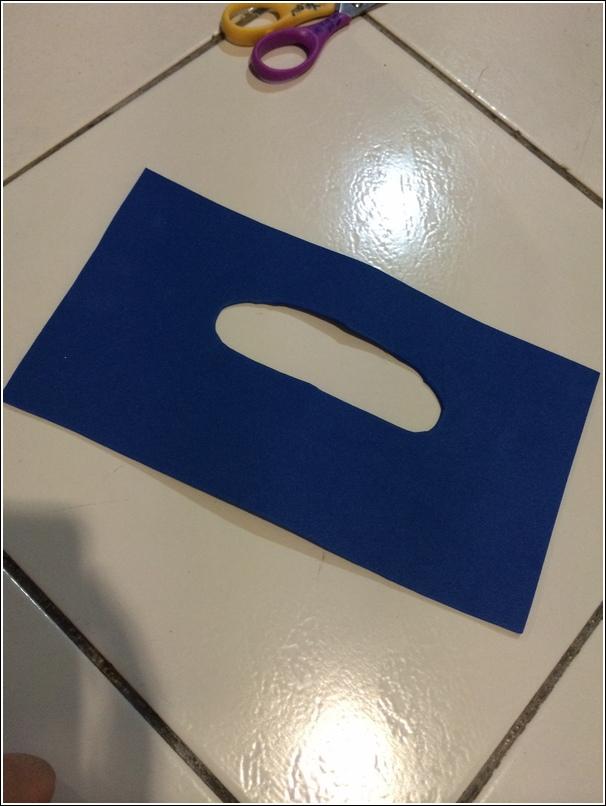 tissue box foam whale 4