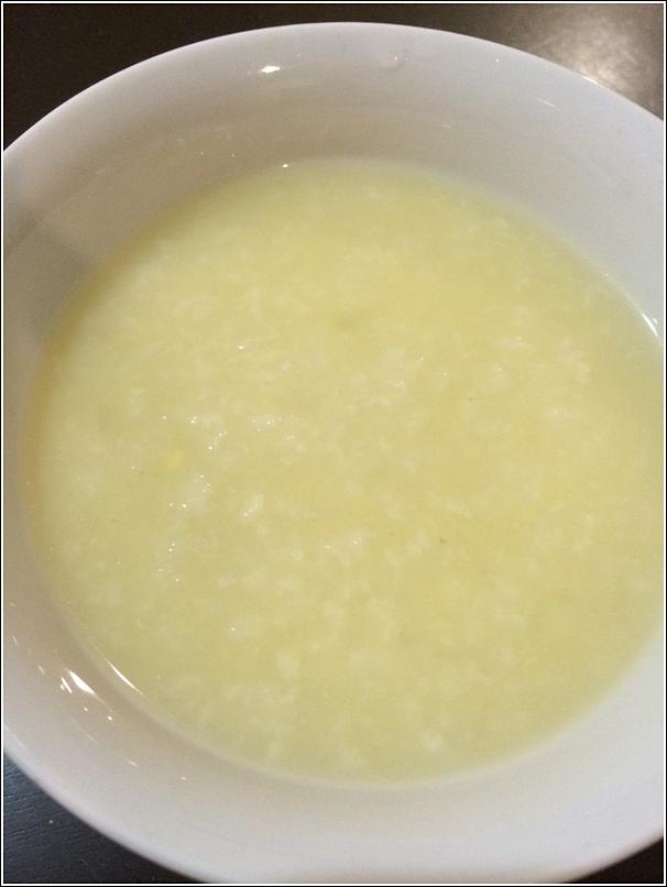 yellow corn porridge for babies