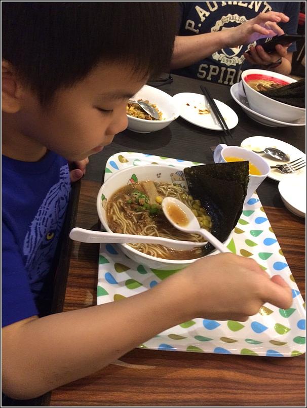Bari-Uma Ramen Jaya One Kids meal