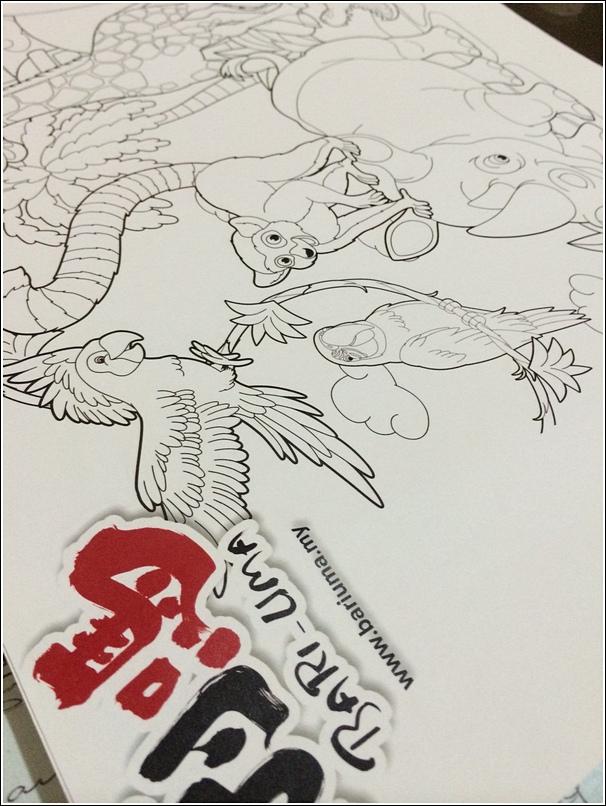Bari-Uma Ramen Jaya One coloring for kids