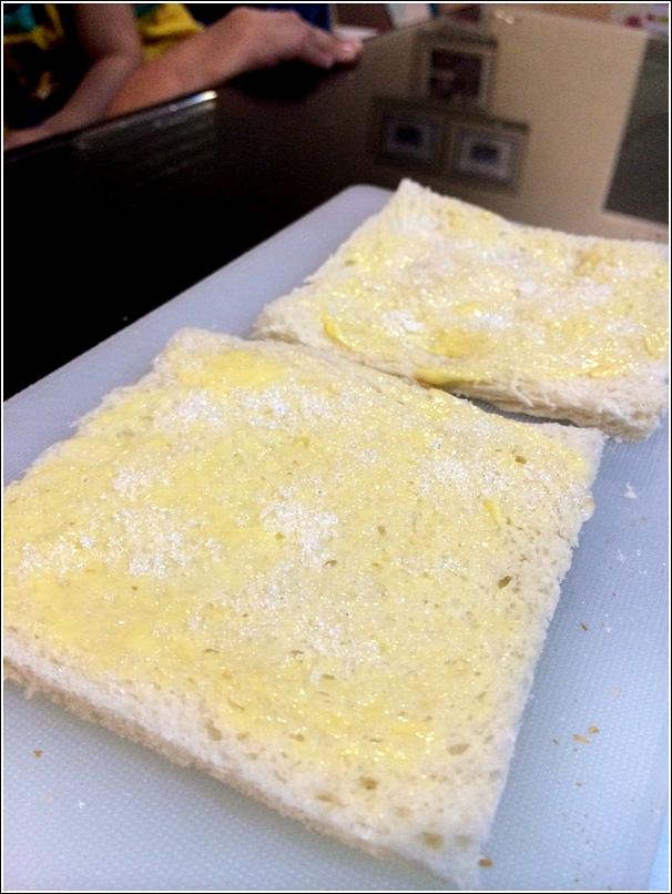 DIY Butter Sandwich