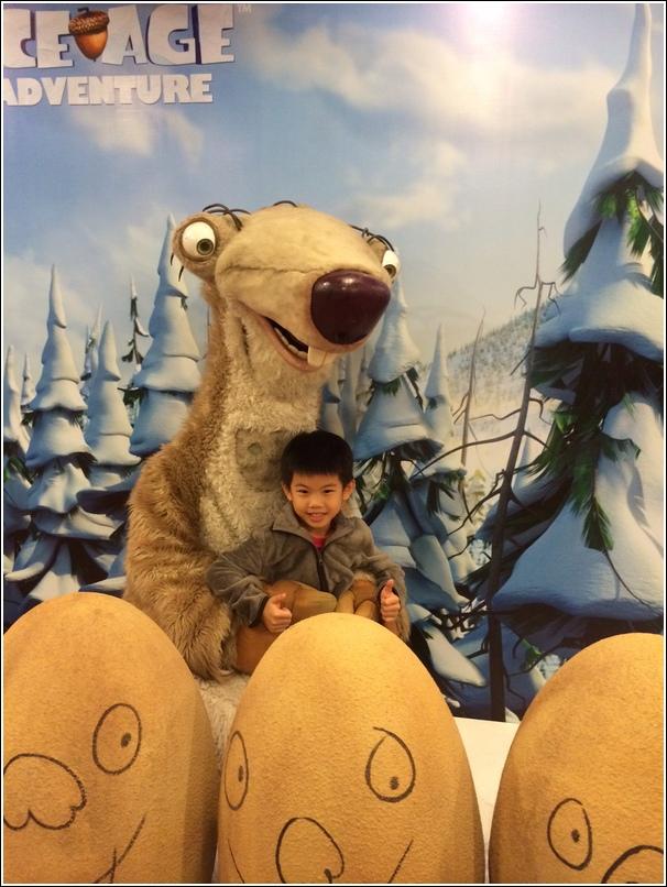 Ice Age Adventure Mascot