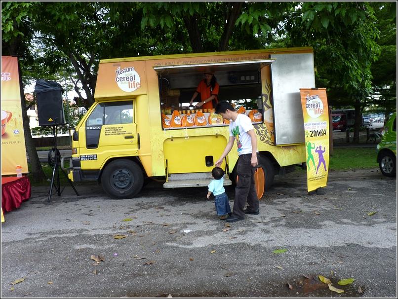 Nestum Truck and Zumba