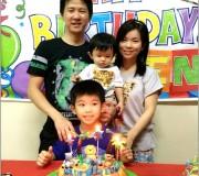 Safari theme birthday cake