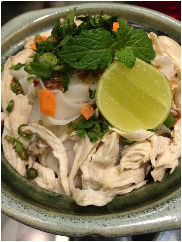 Vietnamese Chicken Noodles Pho Noodles