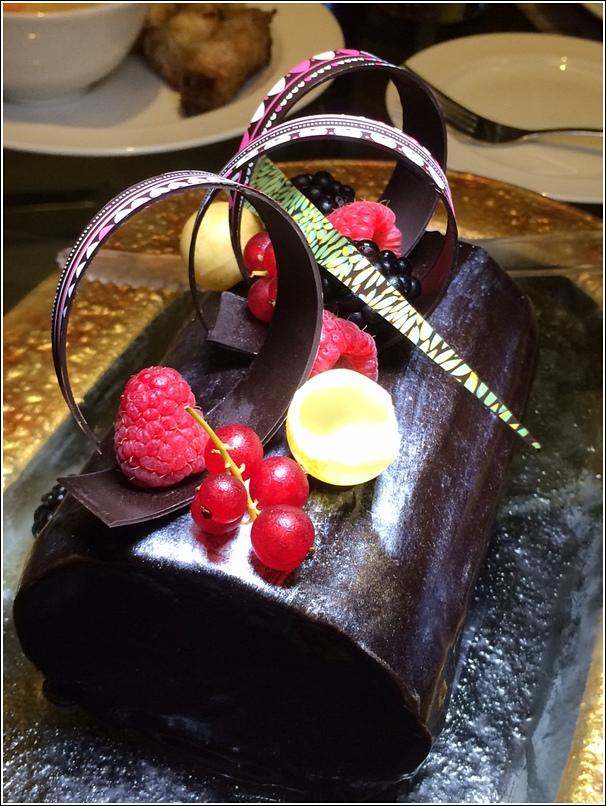 Vietnamese Chocolate Drip Cake