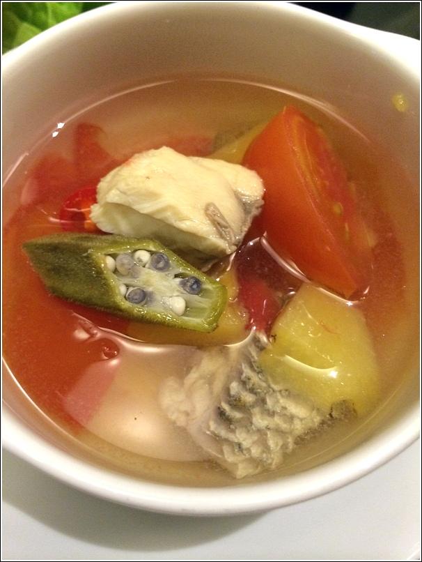 Vietnamese Seafood Soup