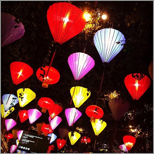 lantern decor in Genting