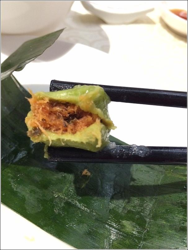 Minced Chicken Dumpling wrapped in banana leaf 1