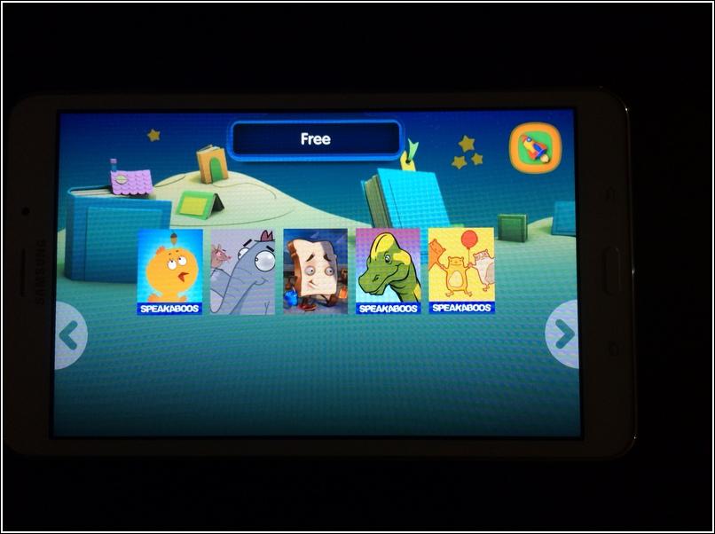 Samsung KidsTime E-book