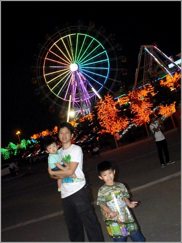 i-City lights ferries wheel