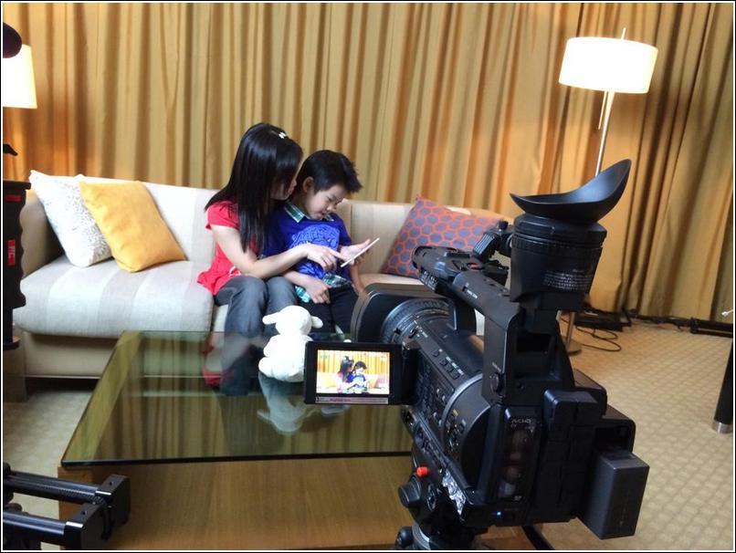 video shoot 1
