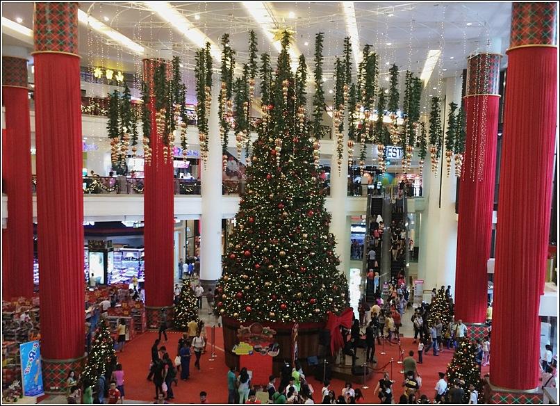Berjaya Times Square Christmas Decor Biggest Tree Replica
