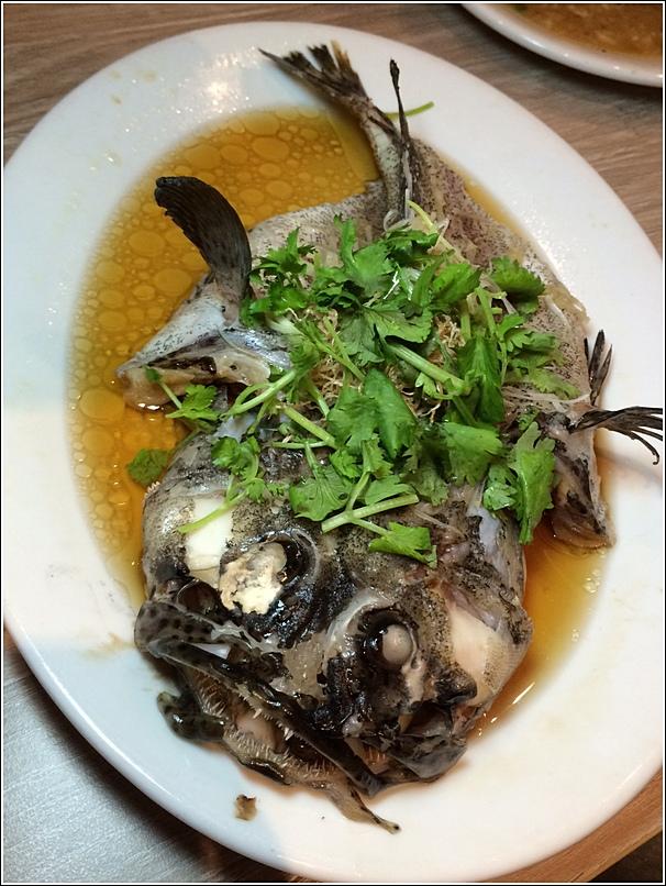 Parkroyal Seafood Buffet Fish dish