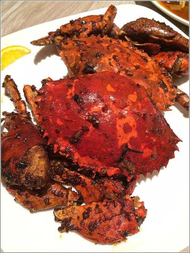 Parkroyal Seafood buffet promotion crab ala carte