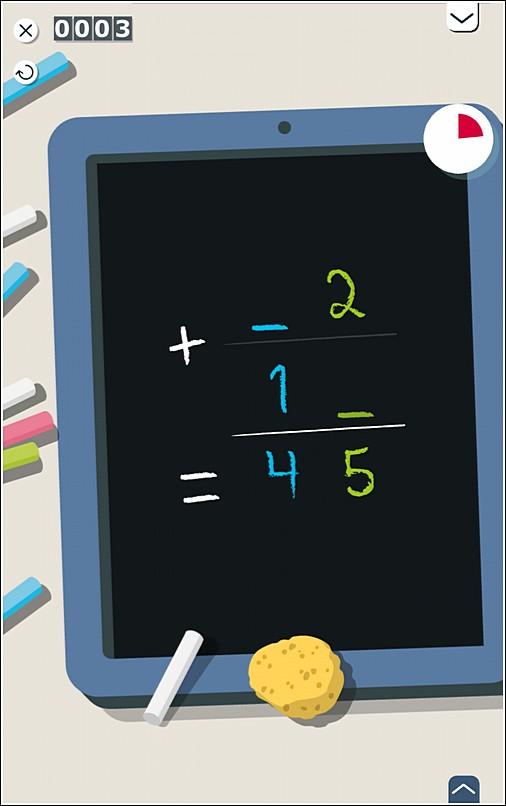 Samsung KidsTime Math Game Ethan fav