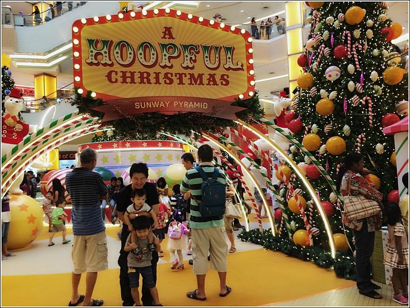 Sunway Pyramid Hoopful Christmas Decor 3