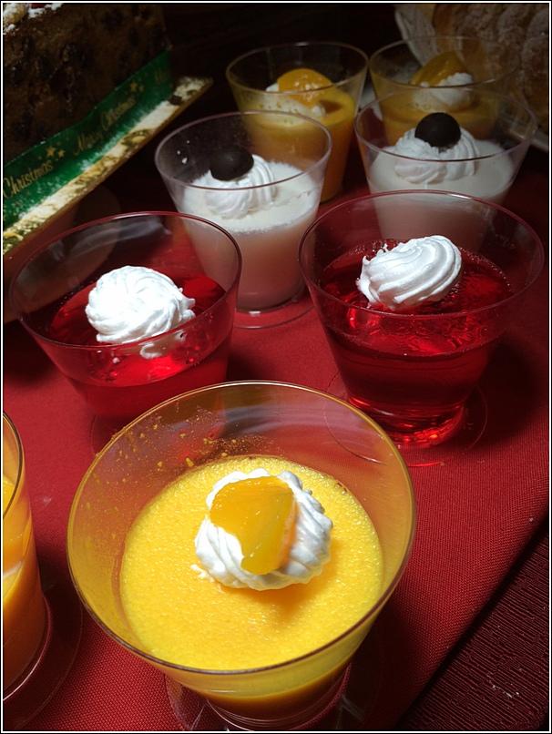 Corus Hotel Christmas Dessert