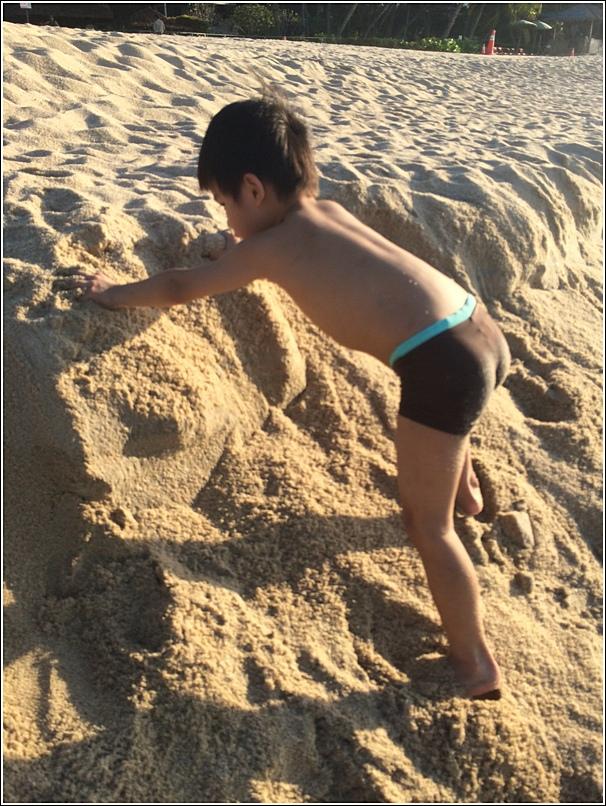 Rasa Sayang Shangri La Penang Beach Ethan