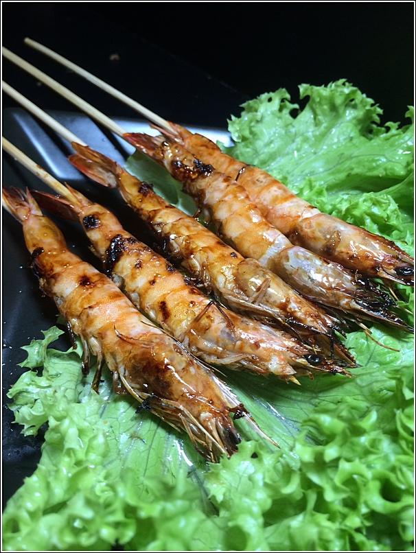 Takio Ikayaki BBQ Lazy Shrimp