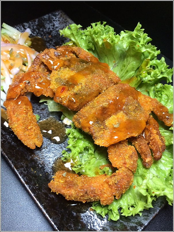 Takio Ikayaki soft shell crab