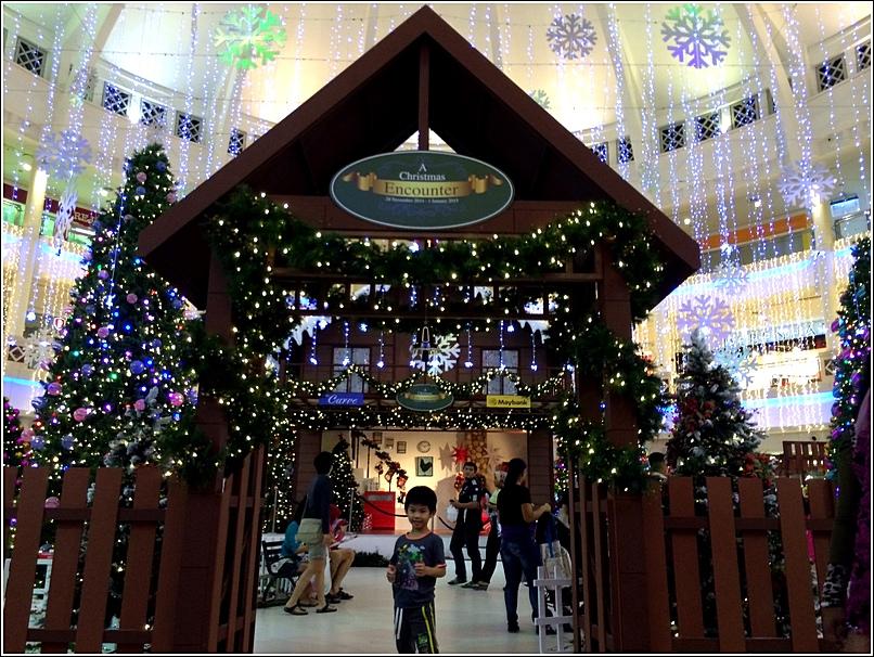 The Curve Christmas decor 2014