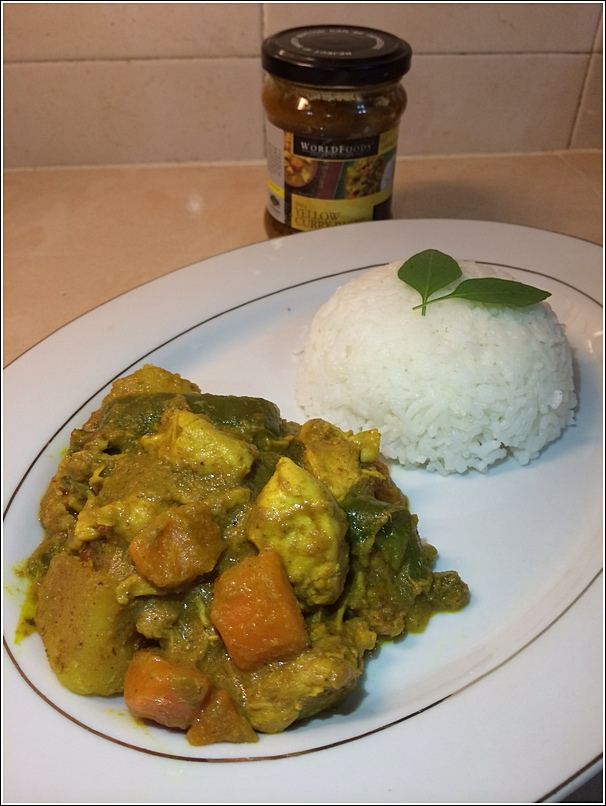 WorldFoods Yellow Curry Paste Recipe3