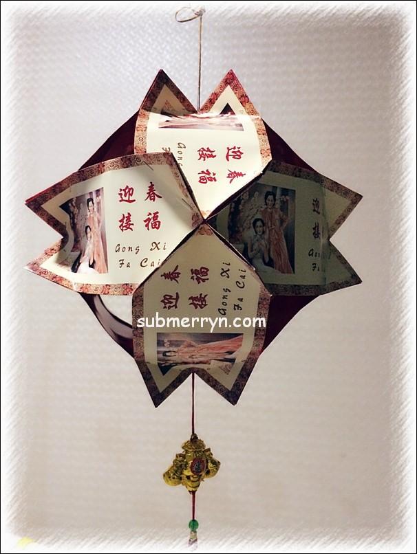 DIY CNY Angpow lantern tutorial 1
