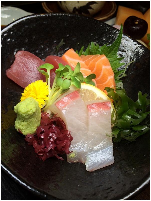 Meltique Teppanyaki Beef Special Set Sashimi