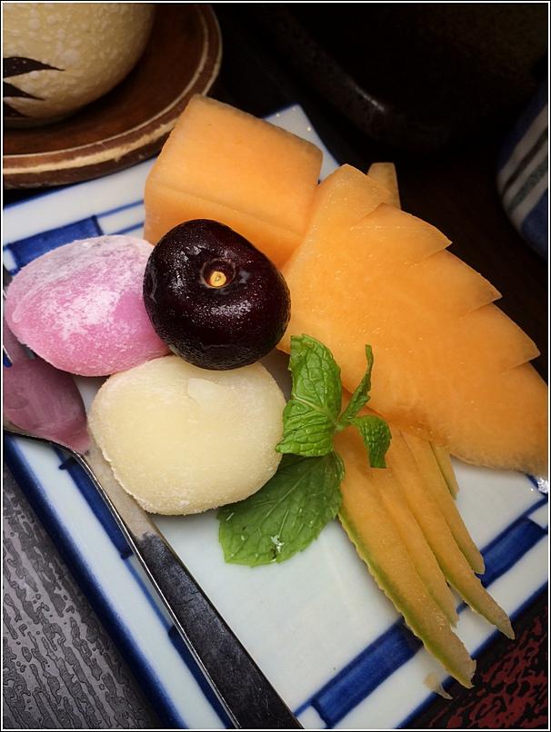 Meltique Teppanyaki Beef Special Set dessert