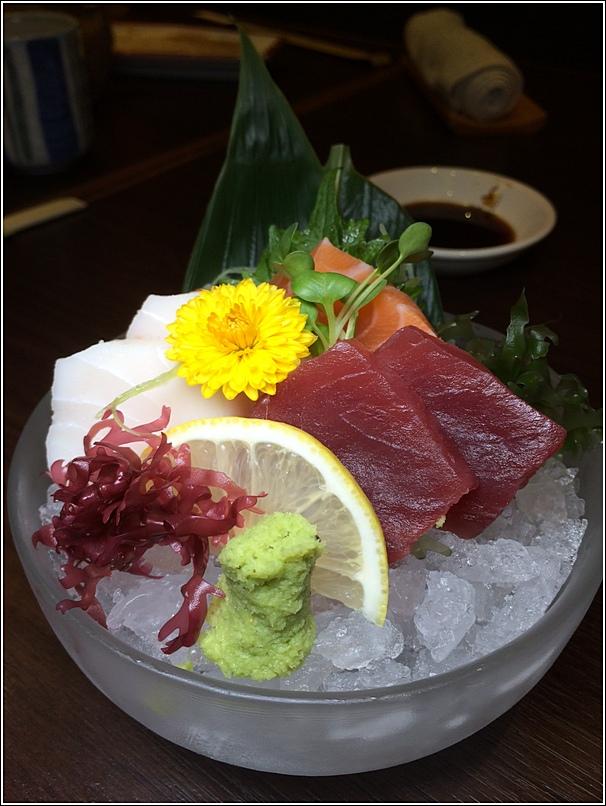 Mini Kaiseki sashimi