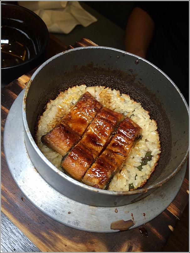 Mini Kaiseki unagi rice
