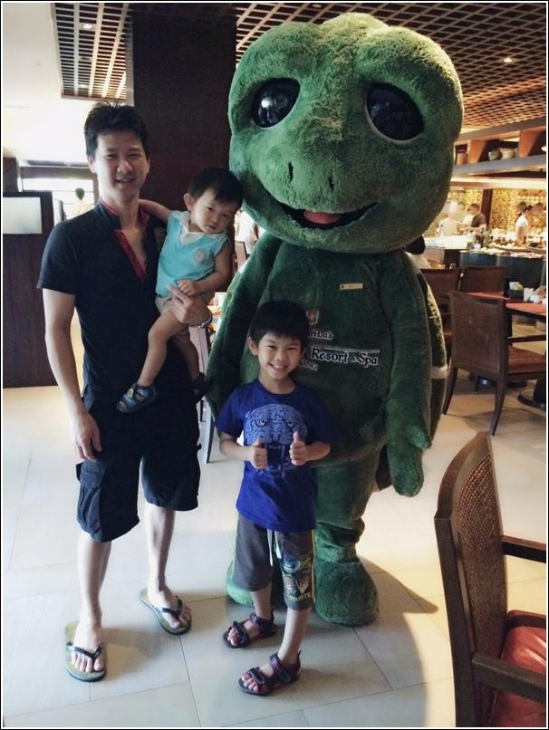 Rasa Sayang Shangri La mascot turtle