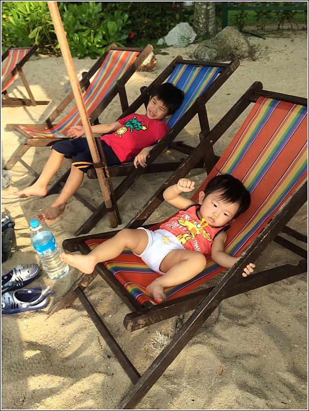 Shangri La Rasa Sayang beach