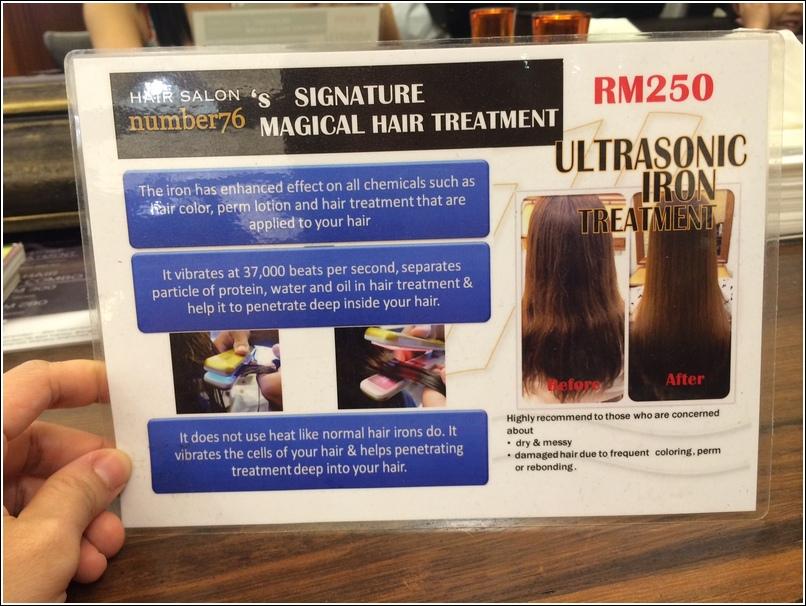 Ultrasonic Iron treatment