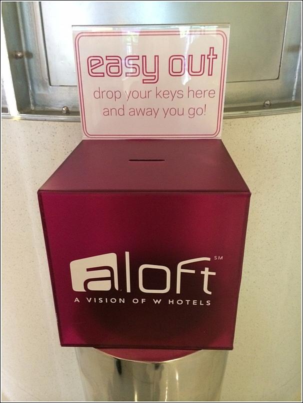 Aloft kl check out