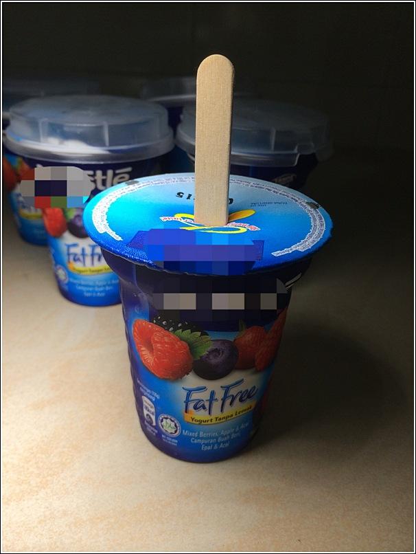 DIY Yogurt Ice Lolly